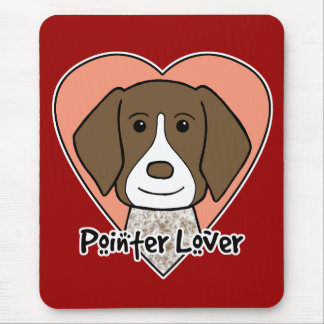 German Shorthaired Pointer Lover Mouse Pad