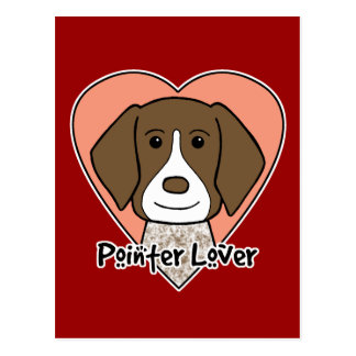 German Shorthaired Pointer Lover Postcard