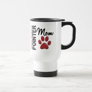 German Shorthaired Pointer Mom 2 Stainless Steel Travel Mug