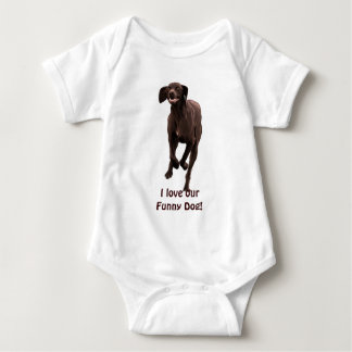 German Shorthaired Pointer Pet-lover Infant Creeper