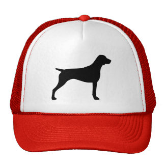 German Shorthaired Pointer Silhouette Cap