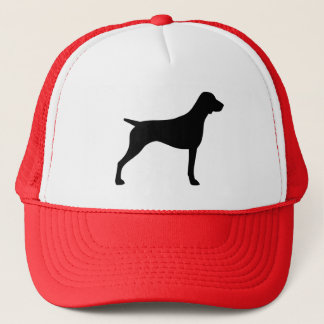 German Shorthaired Pointer Silhouette Trucker Hat