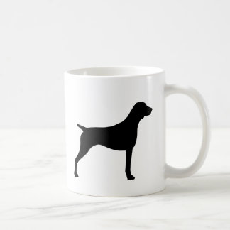 German Shorthaired Pointer Silhouettes Coffee Mug
