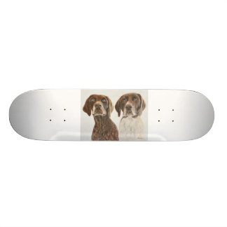 German Shorthaired Pointers Skate Boards
