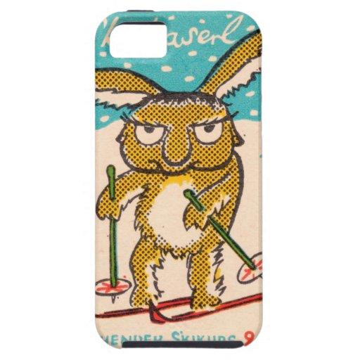 German Ski Bunny iPhone 5/5S Case
