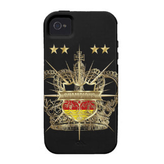 German Soccer Champions of the World 2014 iPhone 4 Cover