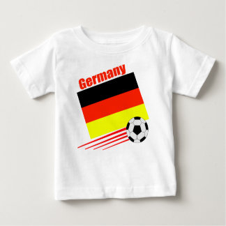 German Soccer Team Baby T-Shirt