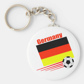 German Soccer Team Key Ring
