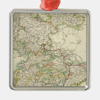 German States Christmas Ornament