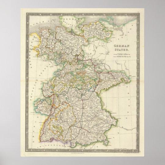 German States Poster