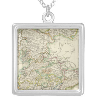 German States Silver Plated Necklace