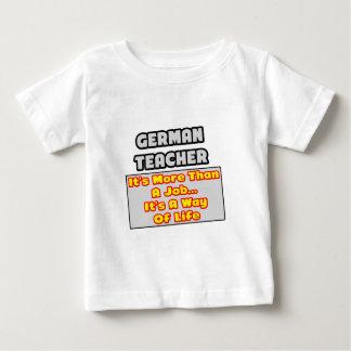 German Teacher...More Than Job, Way of Life Tees