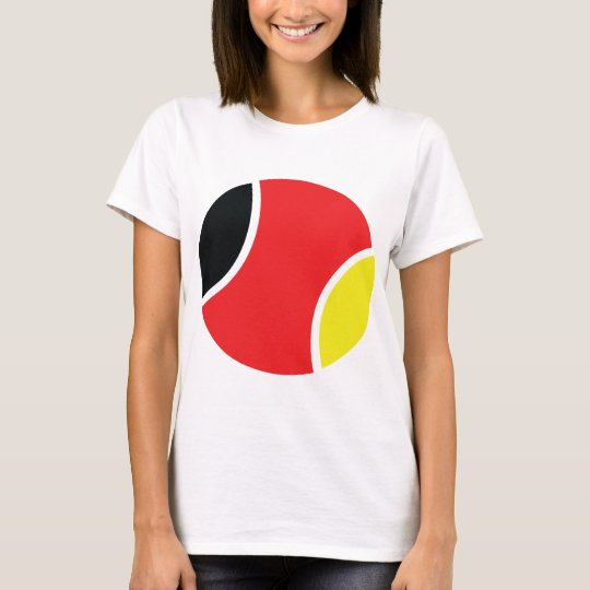 german tennis ball icon T-Shirt