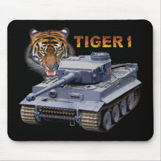 German Tiger 1 Tank Mouse Mat