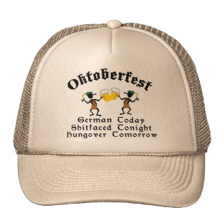 German Today Shirtfaced Tonight Hat