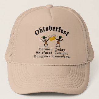 German Today Shirtfaced Tonight Trucker Hat