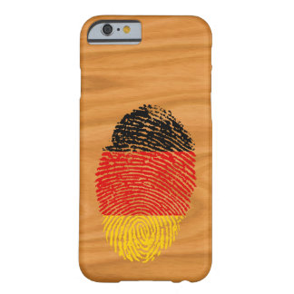 German touch fingerprint flag barely there iPhone 6 case