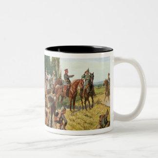 German Uniforms Two-Tone Coffee Mug