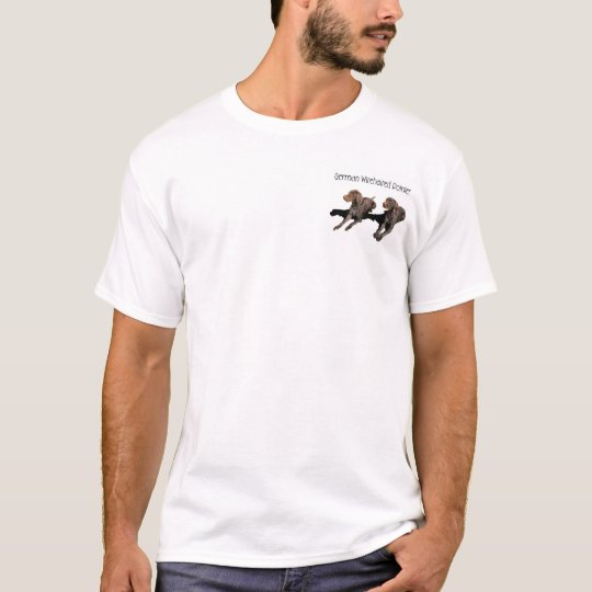German Wirehaired Pointer Card T-Shirt