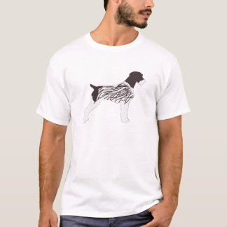 german wirehaired pointer cartoon T-Shirt