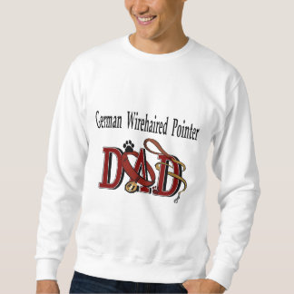 German Wirehaired Pointer Dad Gifts Sweatshirt