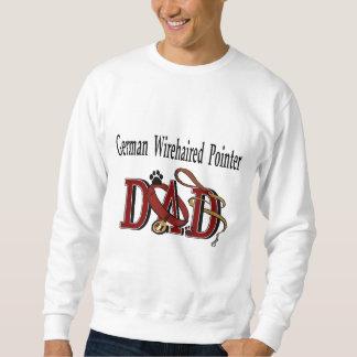 German Wirehaired Pointer Dad Gifts Sweatshirt