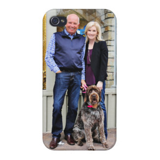 German Wirehaired Pointer - Lexy iPhone 4/4S Cases