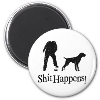 German Wirehaired Pointer Magnet