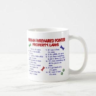 GERMAN WIREHAIRED POINTER PL2 COFFEE MUG
