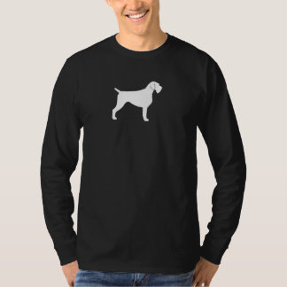 German Wirehaired Pointer Silhouette T-Shirt