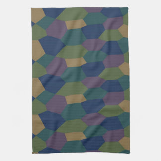 German World War I Lozenge Camo Kitchen Towel