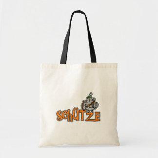 German Zodiac Tote - Sagittarius Budget Tote Bag