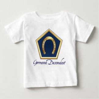 Germanna Descendant Baby T-shirt