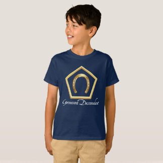 Germanna Descendant Kid's Navy Blue T-Shirt