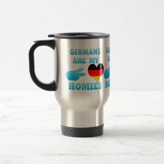 Germans are my Homies Stainless Steel Travel Mug