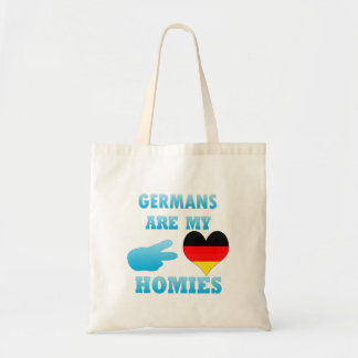 Germans are my Homies Tote Bag