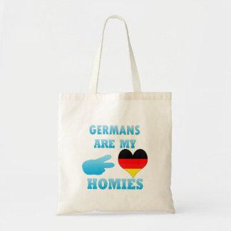 Germans are my Homies Budget Tote Bag