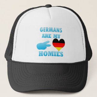 Germans are my Homies Trucker Hat