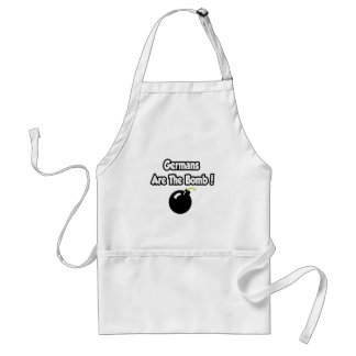 Germans Are The Bomb! Aprons