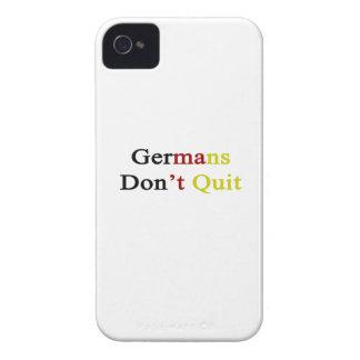 Germans Don t Quit iPhone 4 Case-Mate Case
