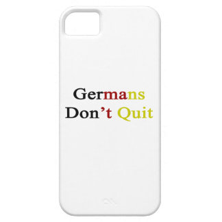 Germans Don t Quit iPhone 5/5S Covers