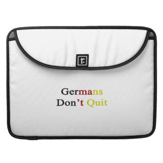 Germans Don t Quit MacBook Pro Sleeves