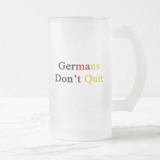 Germans Don t Quit Mugs