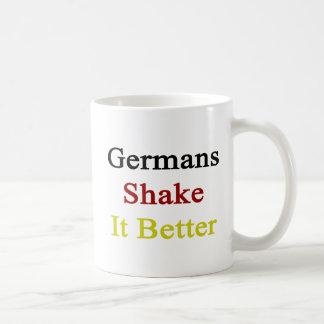 Germans Shake It Better Basic White Mug