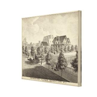 Germantown Cottage, Atlantic City, NJ Canvas Print