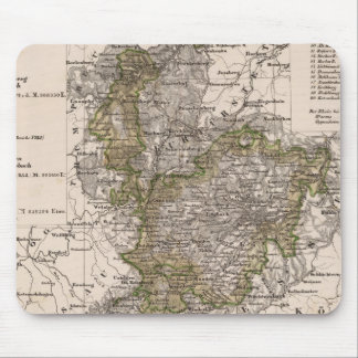 Germany 12 mouse pad