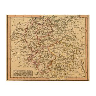 Germany 18 wood prints