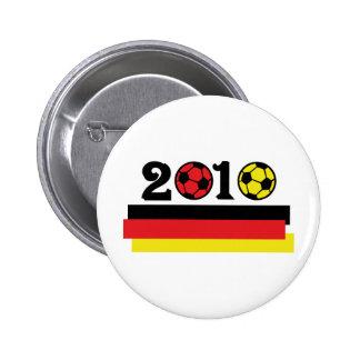 germany 2010 soccer pinback button