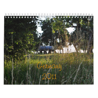 Germany 2011 wall calendars
