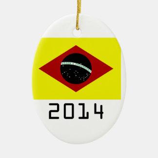 germany 2014 ceramic oval decoration